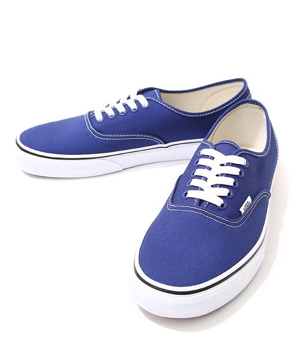 Vans Blue And White