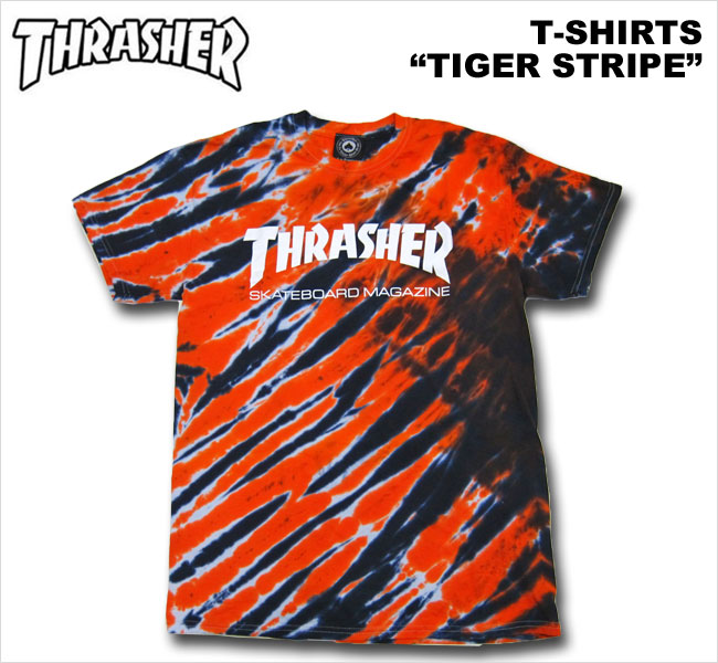Thrasher t Shirt Tie Dye Thrasher Slasher t Shirt