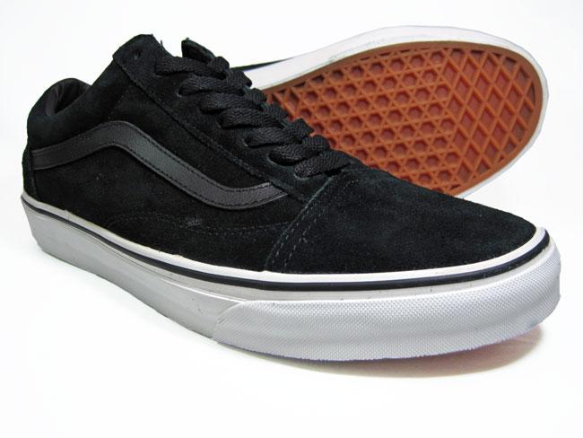 Vans Old Skool Black Suede