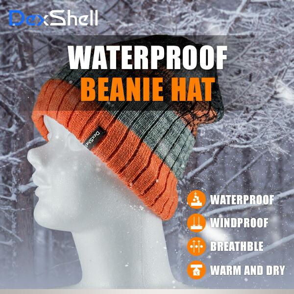 防水通気ビーニー帽 DH332N-OG