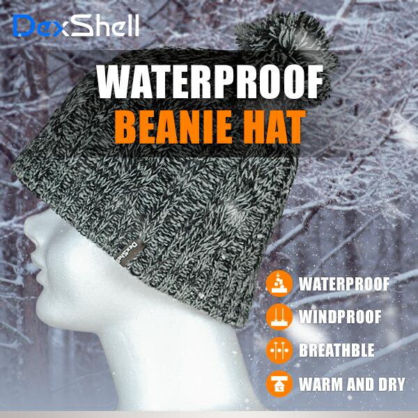 防水通気ビーニー帽 DH342-g