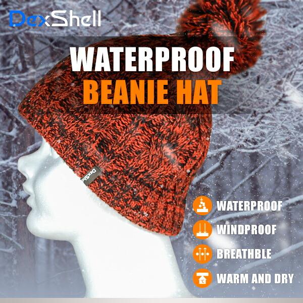 防水通気ビーニー帽 DH342-tr