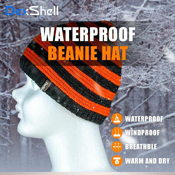 防水通気ビーニー帽 DH552-TR