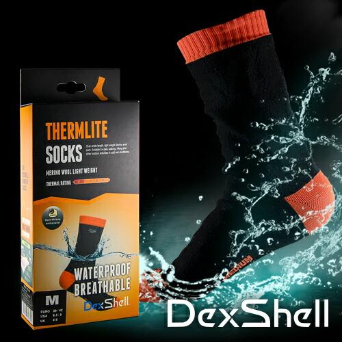 防水通気靴下サーモライトソックス DS626T