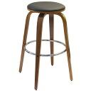 历史上的木头酒吧凳凳凳圆椅子凳子木制斯堪的纳维亚