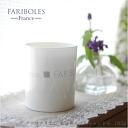 Brand FARIBOLES of 185 g of ファリボレセンティッドキャンドル candle France