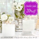GLASSHOUSE. Aroma candle (there is reason) made in glass house aroma candle (fragrance candle) Australia