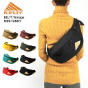 KELTY( Kelty) vintage mini-Fannie body back waist porch hips bag bum-bag men gap Dis OUTDOOR man and woman combined use MINI FANNY