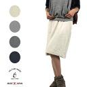 NARU (NALU) knee-length skirts sweatshirts Japan cotton half-medium