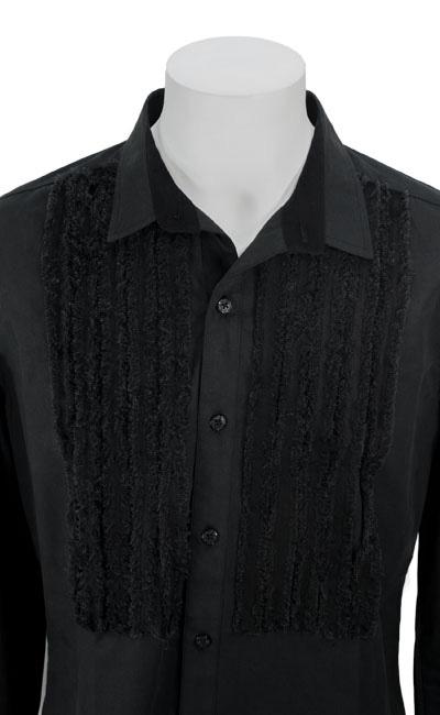 フリルブザムシャツ