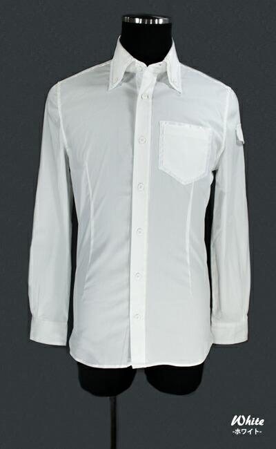 L/S ダブルカラーストレッチシャツ