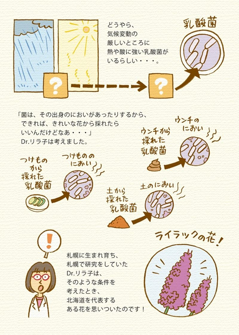 熱や酸に強い乳酸菌