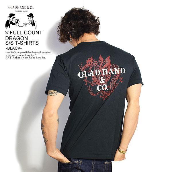 GLAD HAND x FULLCOUNT グラッドハンド x フルカウント DRAGON - S/S T-SHIRTS