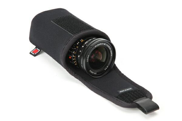 カメラレンズケース 使いやすい牛革のフラップ式