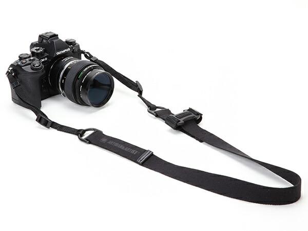 カメラストラップ<テープ素材のリング式ハンドストラップ>