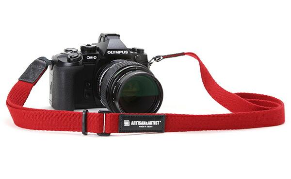 カメラストラップ<ミラーレス向け ハンドストラップ機能搭載のリングタイプ>