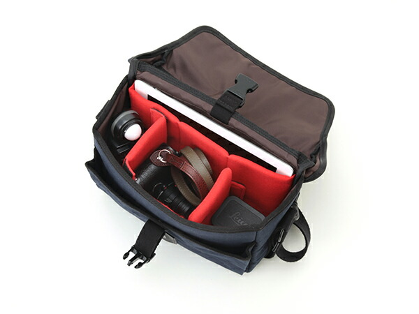 iPad&ライカ・ミラーレスサイズ対応カメラバッグ(S)<クラシックカメラバッグ>