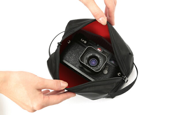 ソフトカメラケース<ライカM,Tシリーズ・ミラーレス用>GI-MN