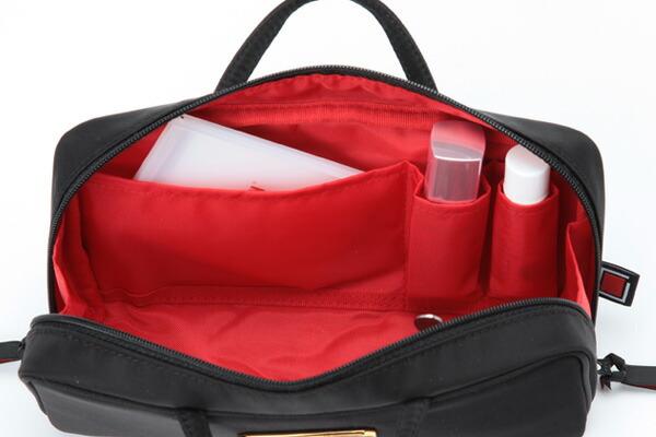ブラシケース付きバッグ型ポーチ<ニューベーシック>