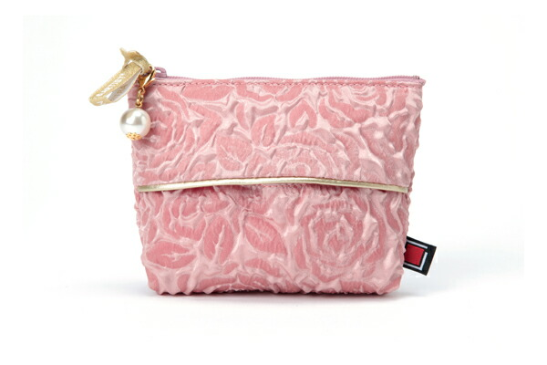 マルチユースなティッシュポーチ<Glossy Rose Bouquet>