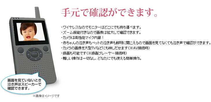 回転ズーム機能付赤外線ワイヤレスカメラ