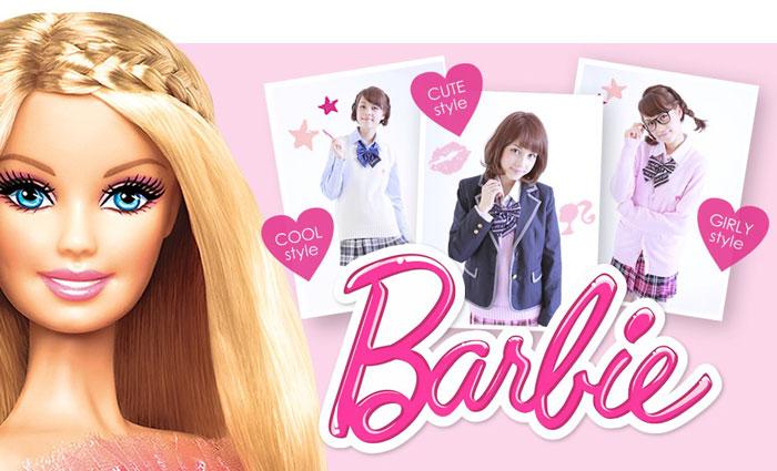 BarbieとTeensEverのコラボ!バービースクールライン