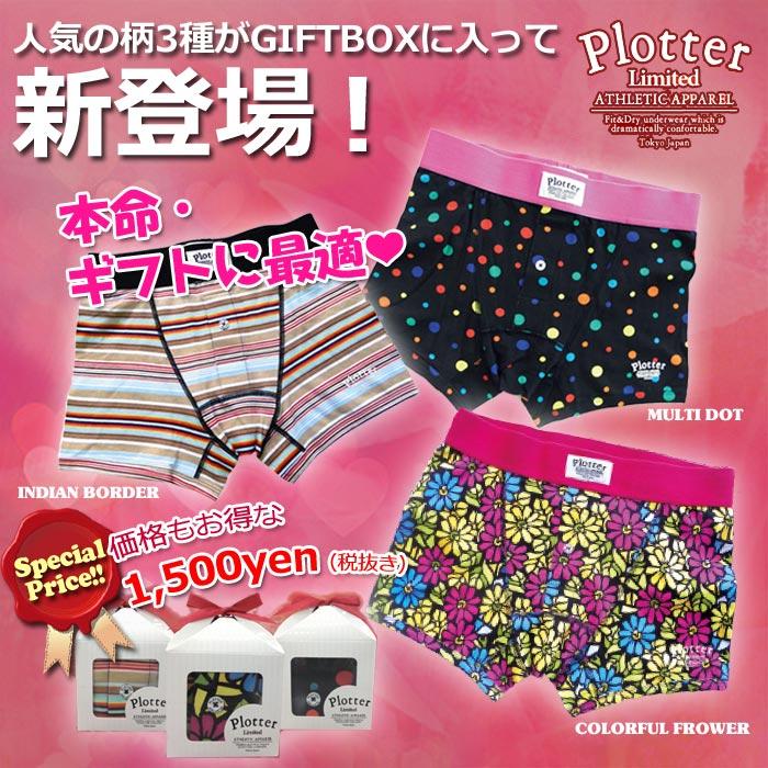 Plotter プロッター ギフトBOX新発売
