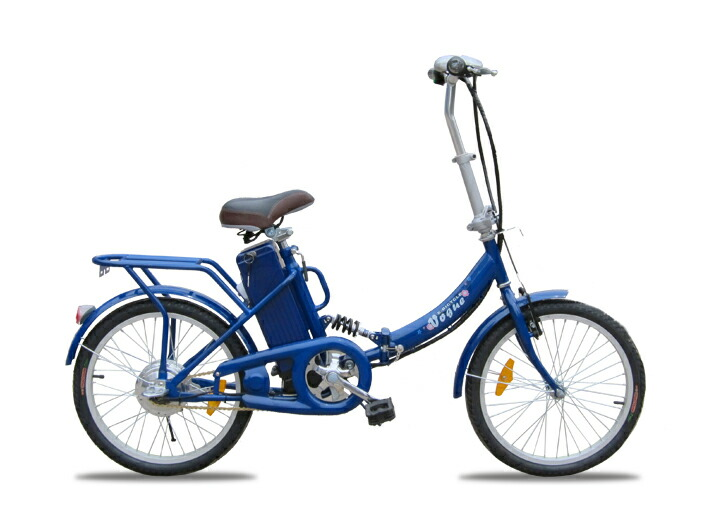 ★楽々坂道!モペット型電動自転車E-BIKE20(20インチ) モペット電動自転車の先駆けです。