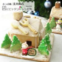 雪のクッキーハウス