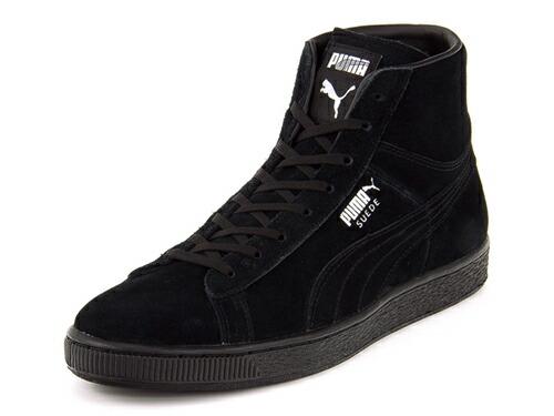 fe36eedd809 PUMA(プーマ) SUEDE MID CLASSIC +(スエードミッドクラシックプラス) 356340 05 ブラック~靴の専門店アスビー