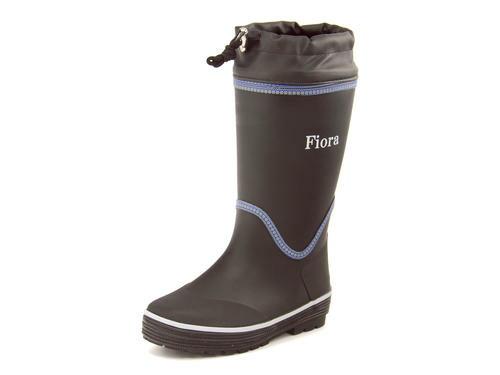 Fiora(フィオラ) レディース 防寒レインブーツ 6778 ブラック