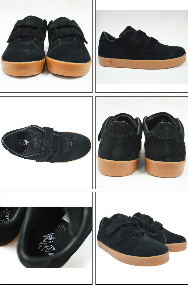 MODEL i(velcro) BLACK GUM