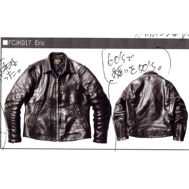 【入荷】ERIC BLACK BLACK FCJK017