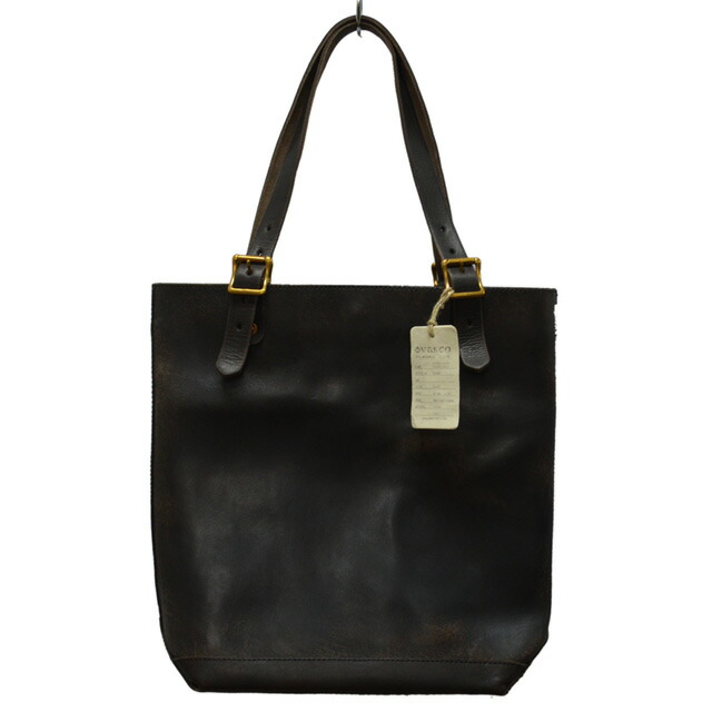 LEATHER TRAVEL TOTEBAG HEIGHT-VS266L