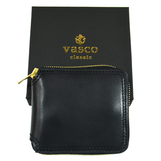 LEATHER VOYAGE ROUND ZIP SHORT WALLET VSC-700Z