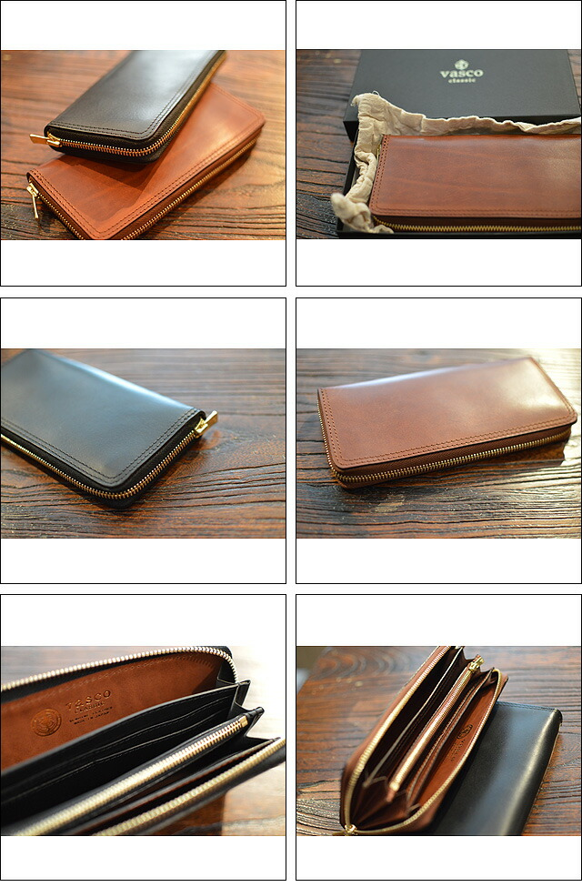 LEATHER VOYAGE ROUND ZIP LONG WALLET VSC-701Z
