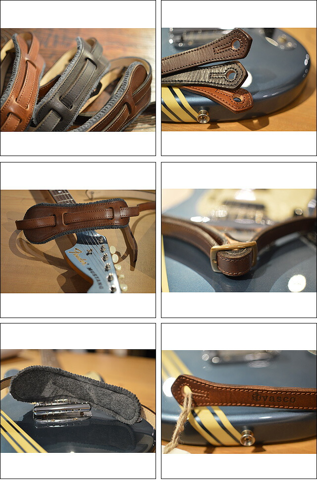 LEATHER STRAP/GUITAR AND BASS
