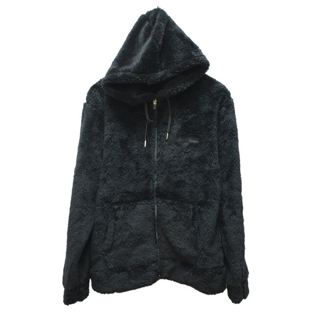 ZIP HOODED FLEECE JACKET