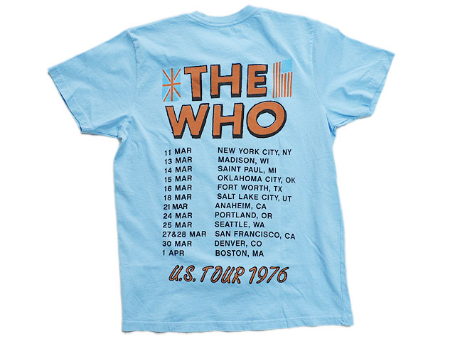 The Who US Tour 1976