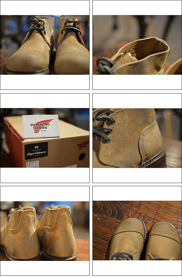 MUNSON B-5 CHUKKA BOOTS(RED WING) HAWTHORNE 04632