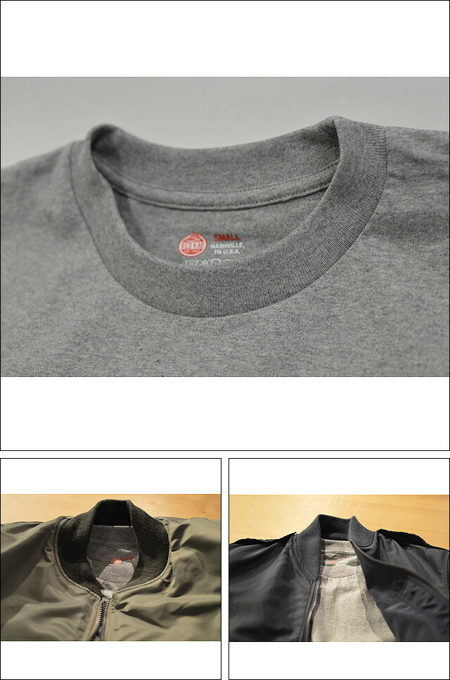 Heavy Weight Crew Neck Pocket Pack Tee GRAY SP2PJ