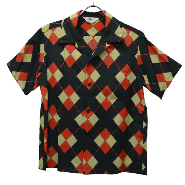 ARGYLE S/S OPEN SHIRT SH37593