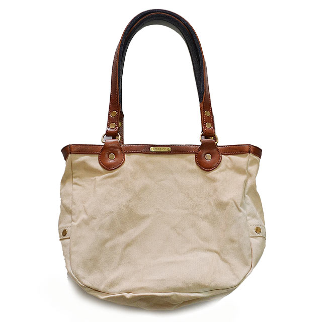 CANVAS×LEATHER POSTMAN TOTE BAG(ASHOES別注) NATURAL