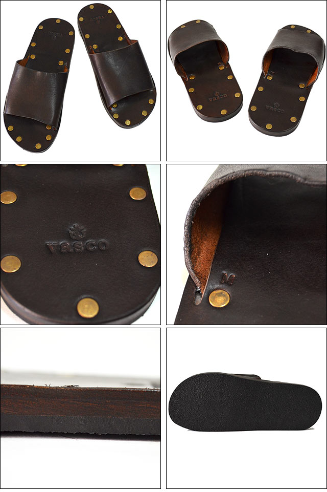 LEATHER TRAVEL SANDAL BROWN