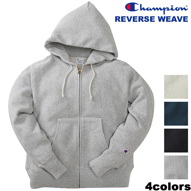 REVERSE WEAVE ZIP SWEAT PARKA(C3-W103)