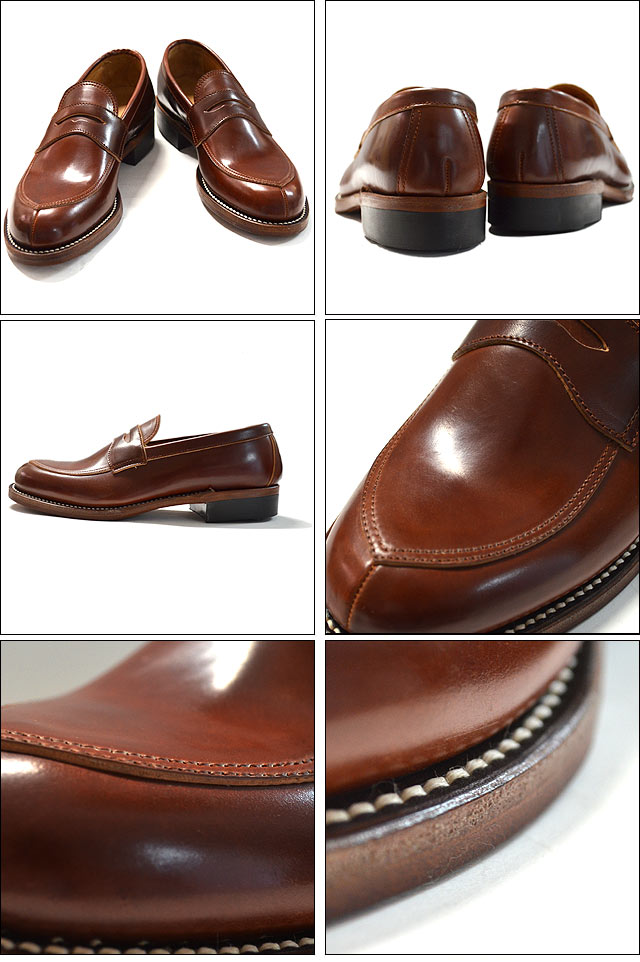 V TIP LOAFER #4