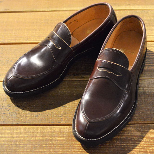 V TIP LOAFER 15AW BURGUNDY