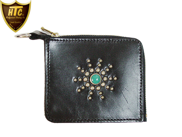 TYPE5 COIN CASE #STAR BURST TQ BLACK