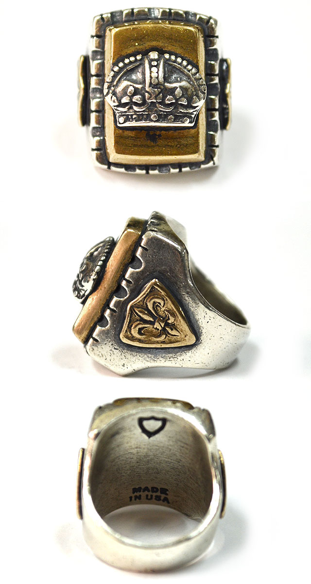 MEXICAN RING #SQUARE CROWN