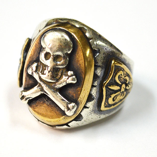 MEXICAN RING #OVAL SKULL